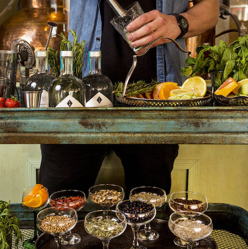 GIN BLENDING & BESPOKE SUPPER CLUB